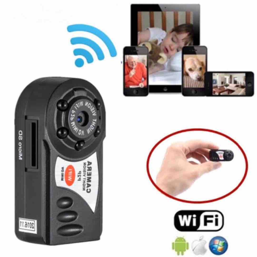 Wireless Portable Mini Ip Cctv Hidden Cam With Wifi Connections