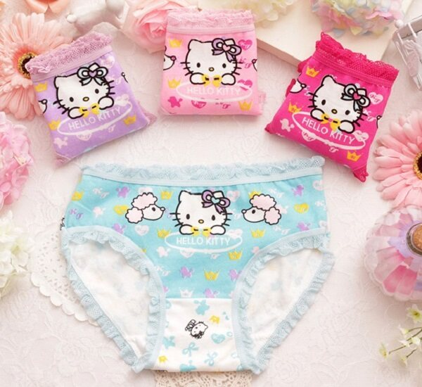 (Ready Stock in Selangor) Kid Girl's Underwear MYESKGU015