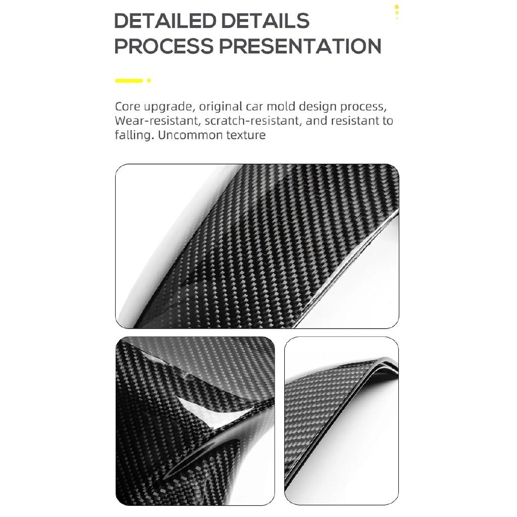 Automotive Tools & Equipment - Carbon Fiber M Style Carbon Fiber Side Mirror Covers For BMW X3 G01 X4 G02 X5 G05 + - Car Replacement Parts