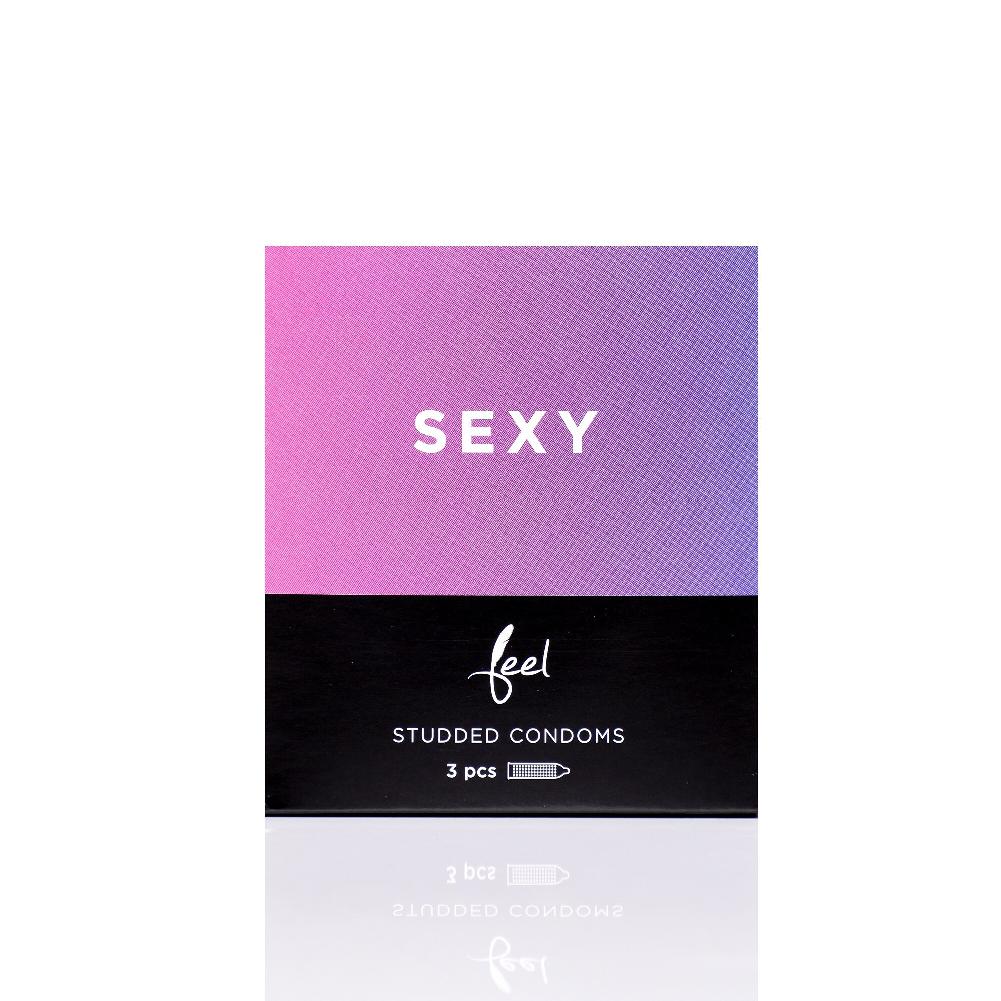 Nulatex Feel Sexy Studded (Dotted) Condoms 3pcs