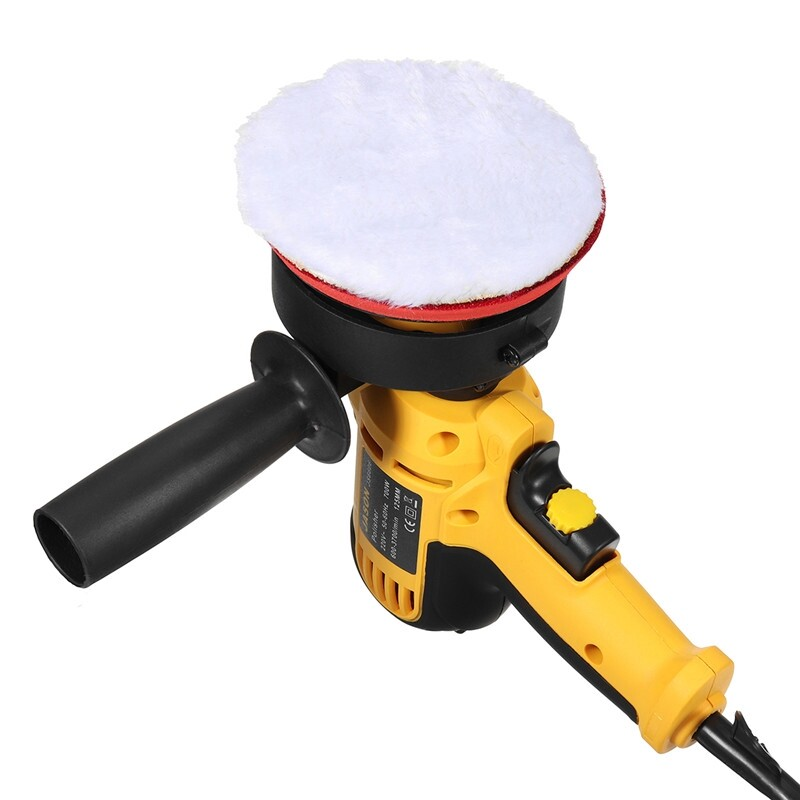 Exterior Car Care - 700W Electric Car Machine Polishing and Buffing Waxing Waxer/Polisher 6 Speed