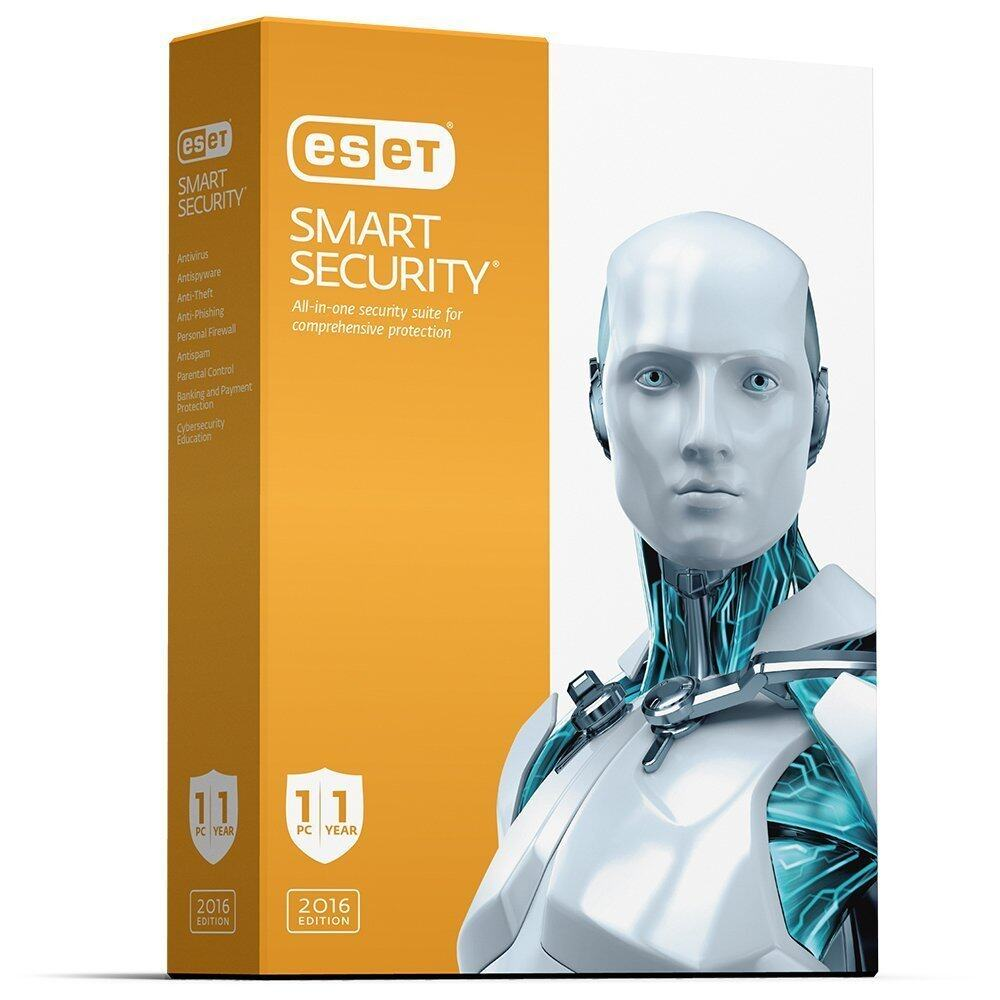 ESET Smart Security - 1 User, 1 Year - PC