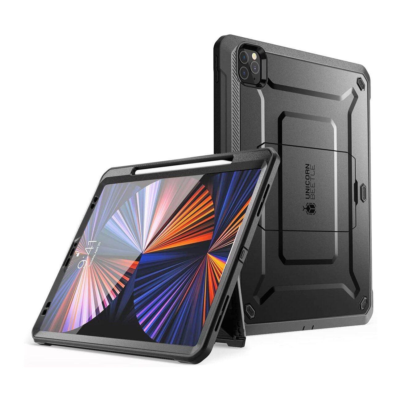 Original SUPCASE iPad Pro 11 / 12.9 Inch (2021 / 2020) Unicorn Beetle Pro Rugged Case - Black