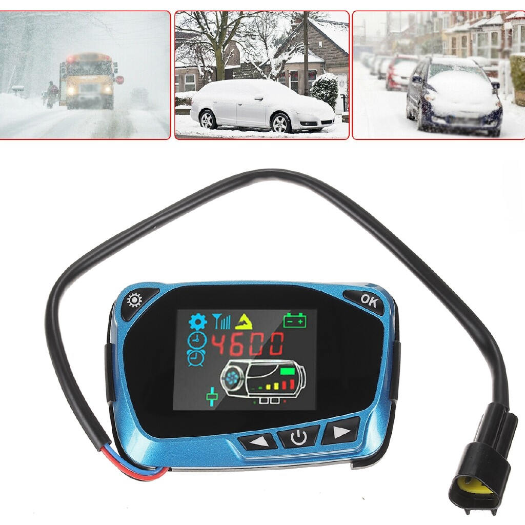Engine Parts - 12V 24V Car Diesel LCD Parking Air Heater Switch Circuit Board Remote Control - Car Replacement
