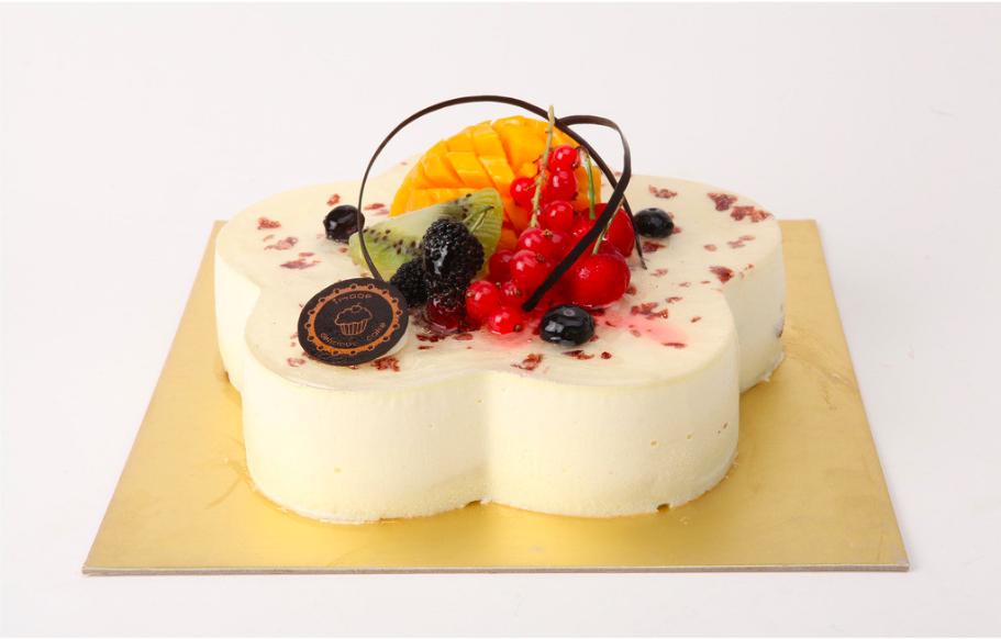 "Square Cake Board (Gold 8"") - Set of 3pcs / PAPAN KEK PETAK"