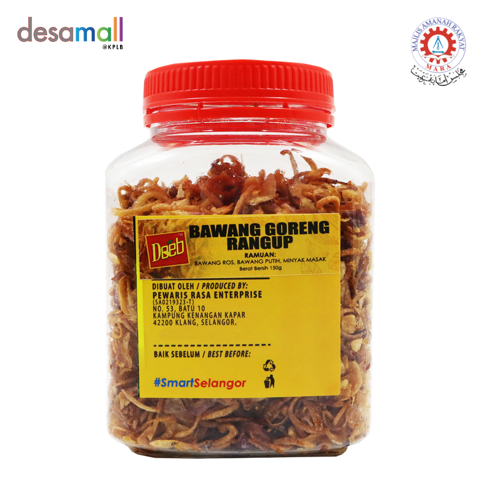 DEEB Bawang Goreng Rangup (150g)