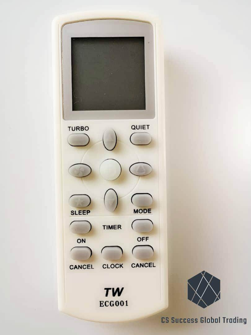 TW ECG001 DAIKIN/ACSON/YORK A/C REMOTE CONTROLLER