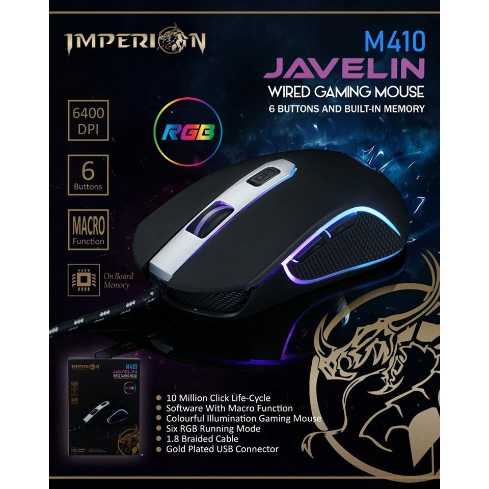 IMPERION JAVELIN M410 WIRED GAMING MOUSE