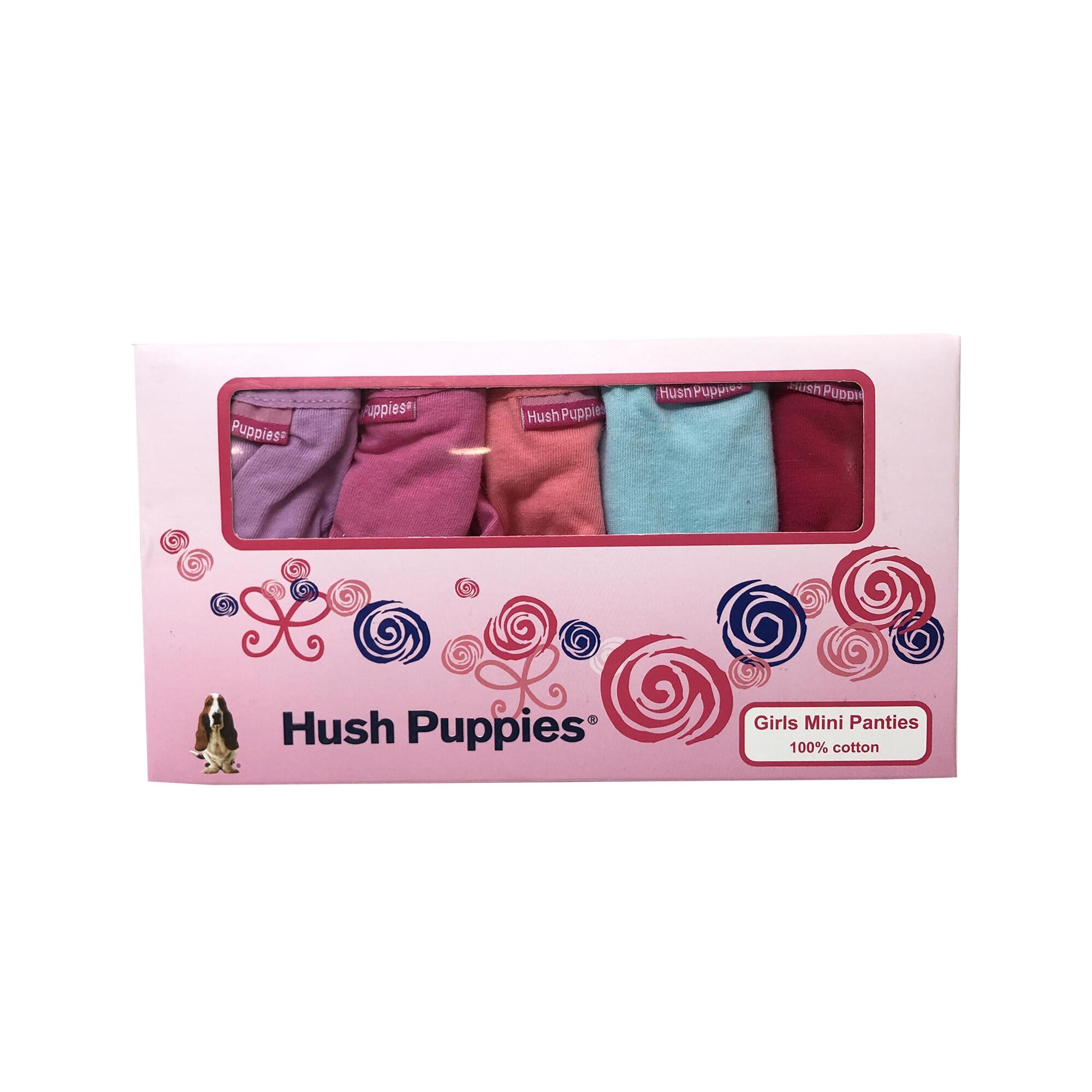 Hush Puppies Bell Girl 5 Pieces Mini Panties  HGU608652
