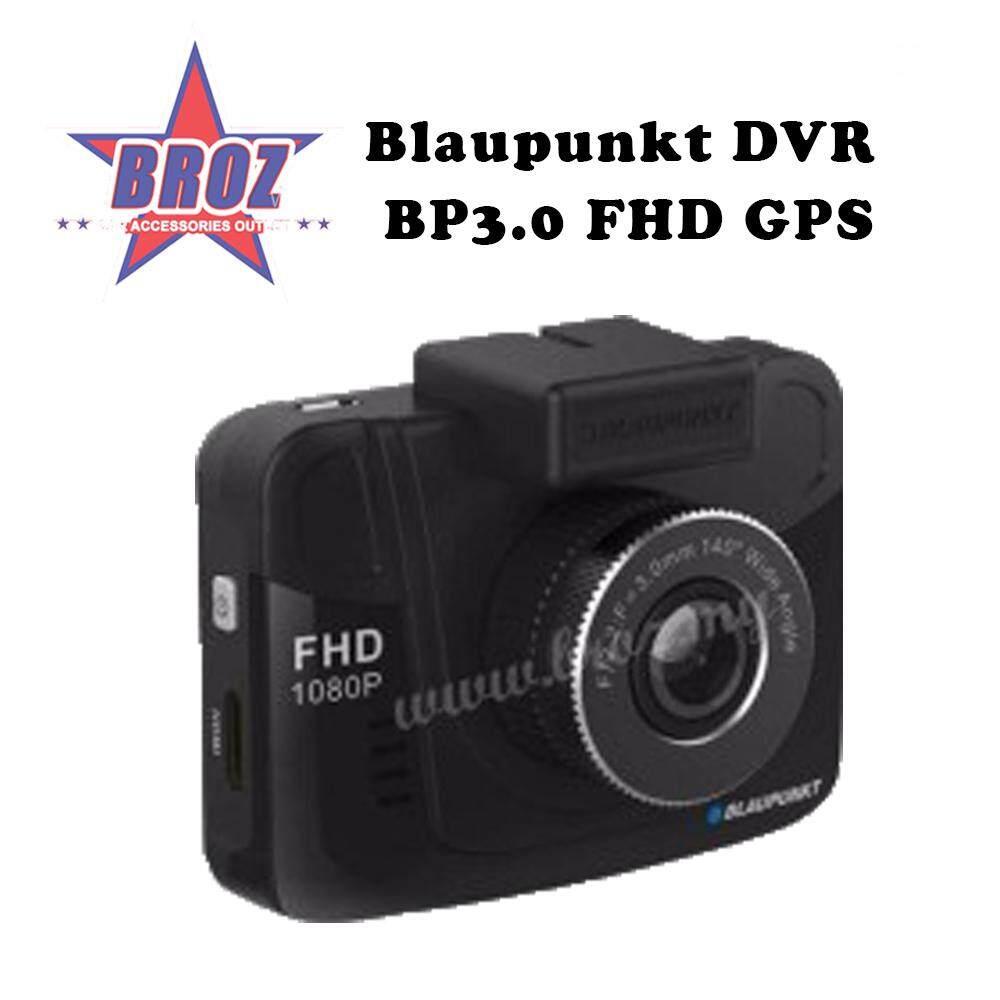 Broz Blaupunkt DVR Car Dash Cam Recorder BP3.0 FHD GPS + 16gb Micro SD