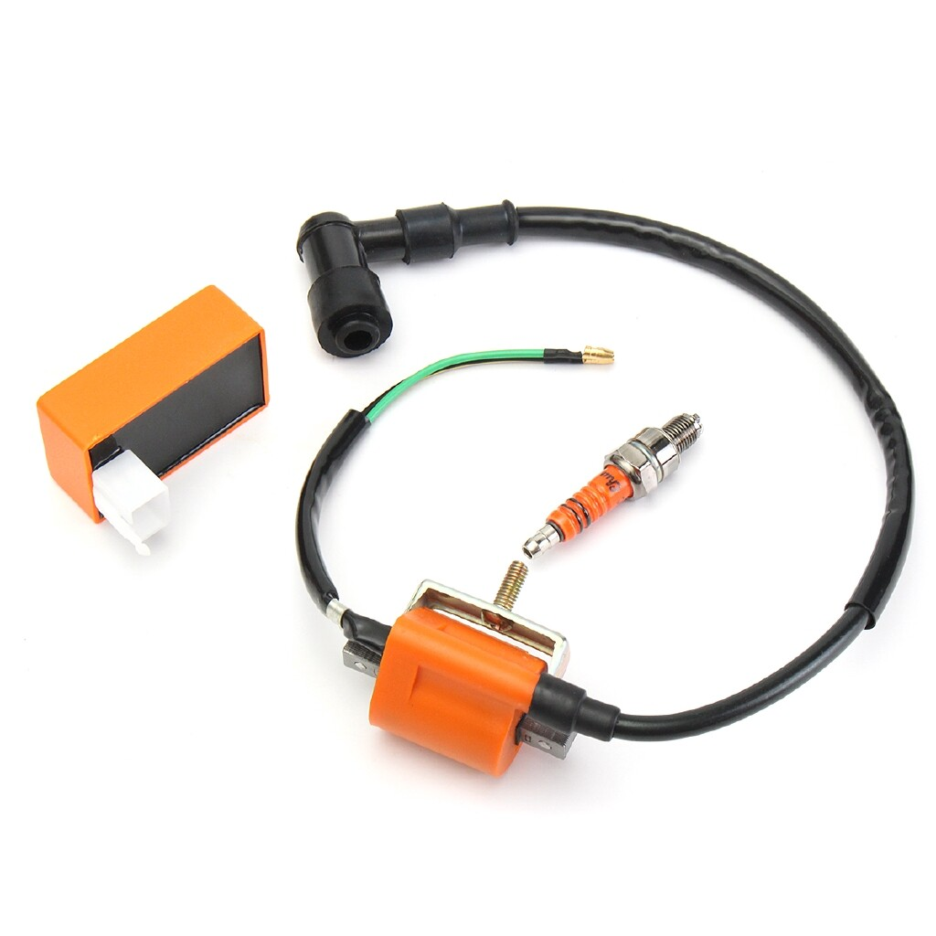 Moto Accessories - Racing Ignition Coil CDI For Honda XR CRF 50cc 70cc 90cc 110cc 125cc ATV Pit - Motorcycles, Parts