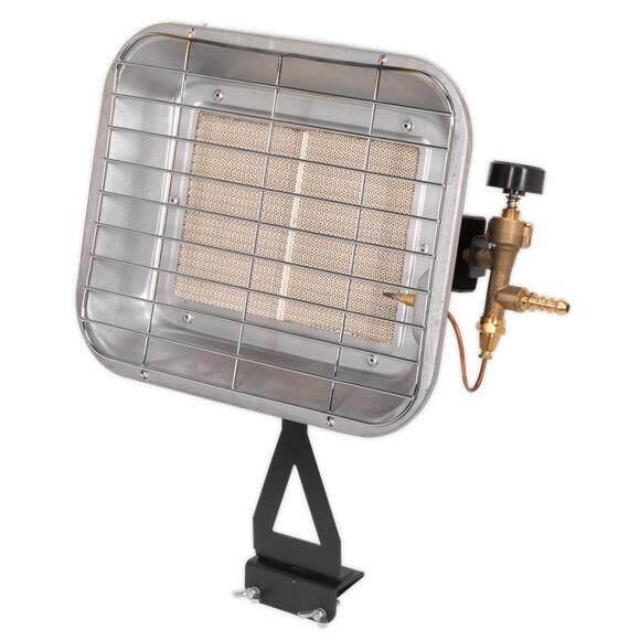 (Pre-order) Sealey Space Warmer   Propane Heater 10,250-15,354Btu/hr Bottle Mounting Model: LP13