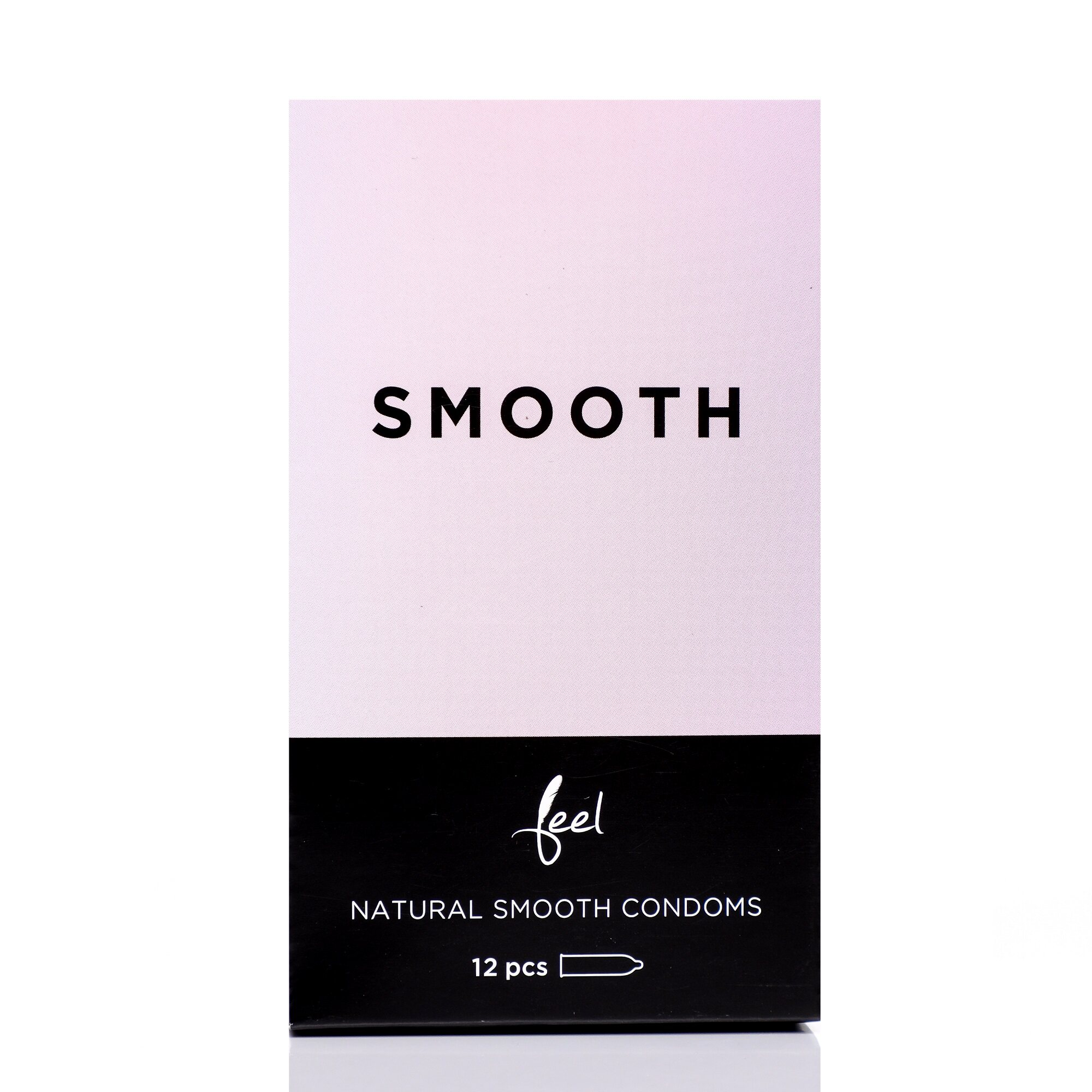 Nulatex Feel Smooth Natural & Seamless Condoms 12pcs