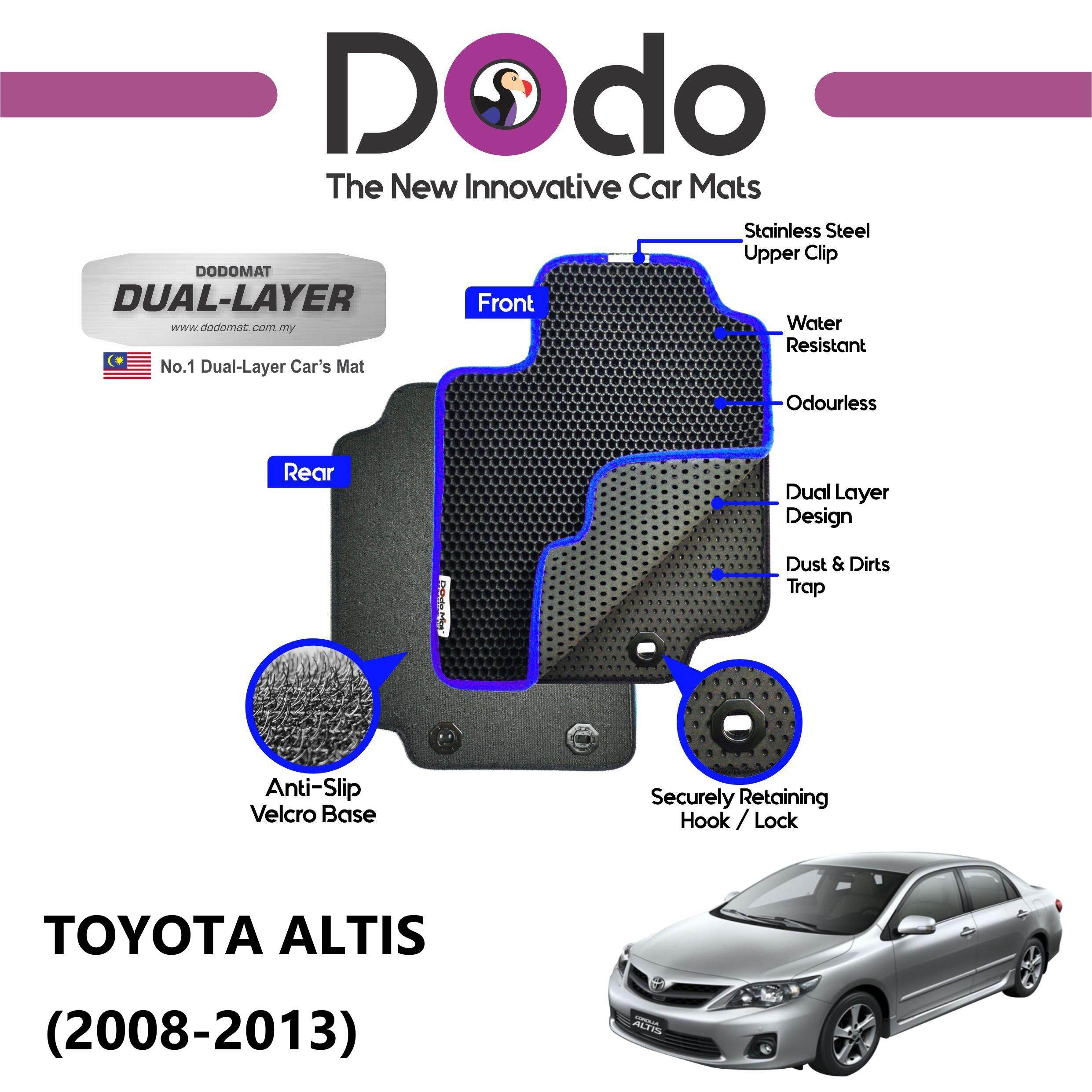 DODOMAT Car Mat TOYOTA ALTIS (2008-2013) BASIC