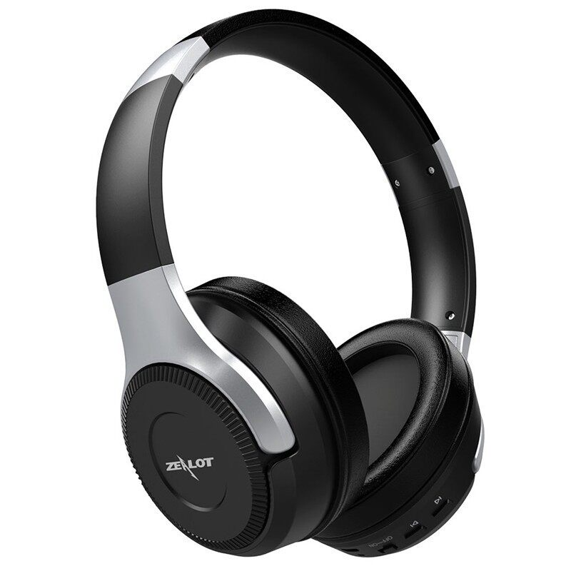 On-Ear Headphones - Zealot B26 HiFi Stereo BLUETOOTH Headphone Touch Control TF Card Head SET - WHITE / BLACK SILVER / BLACK / BLACK GOLD