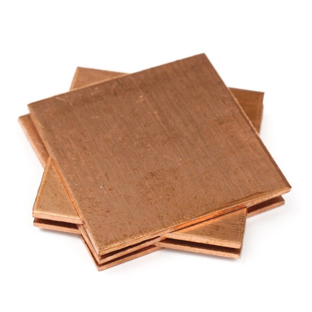 Cool Gadgets - 5 PIECE(s) Heatsink Thermal Pads Copper Shim For Sony PS3 GPU VGA 30mm x 30mm x 1. - Mobile & Accessories