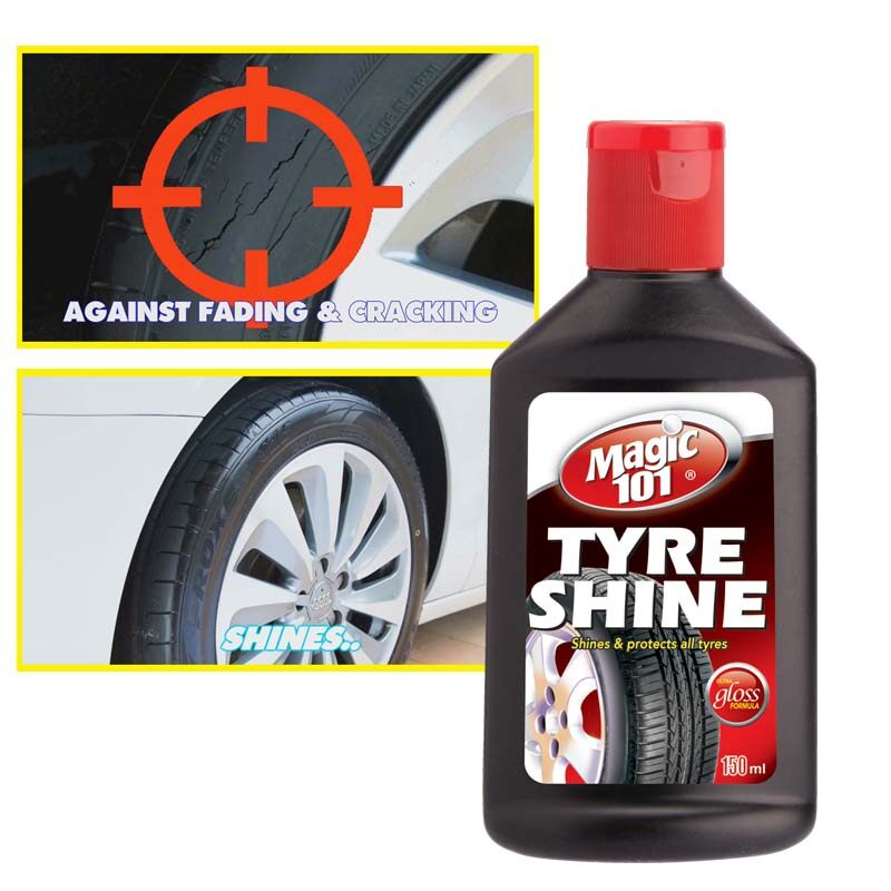 Magic101 Tyre Shine 150ml (Special offer, limited time & while stock lasts)