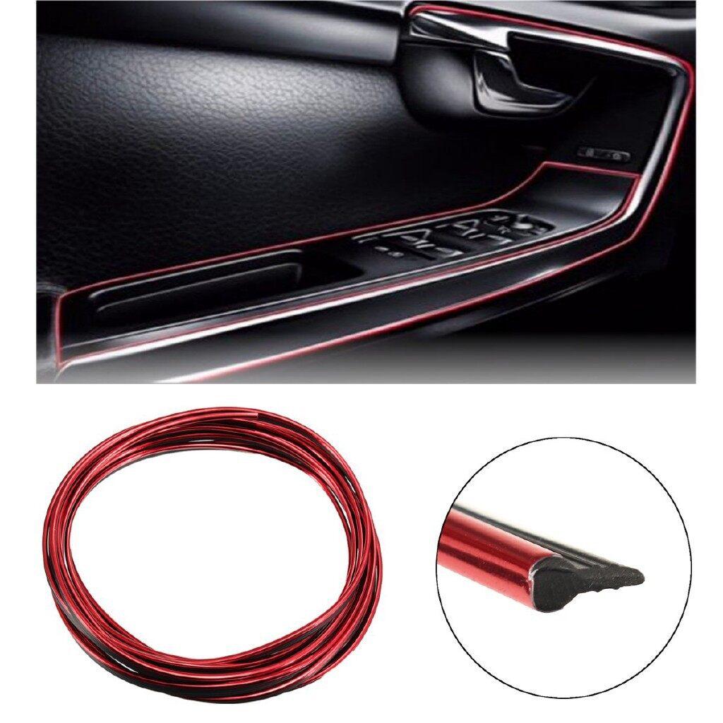 Car Lights - 5M Flexible Rubber Trim For Car Interior Exterior Moulding Strip - Replacement Parts