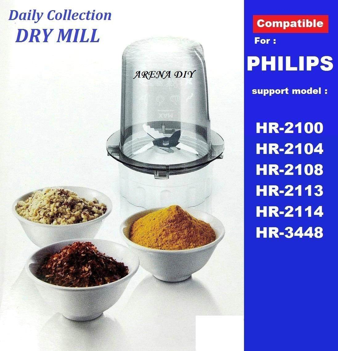 Blender Jar DRY MILL support PHILIPS Blender Jug