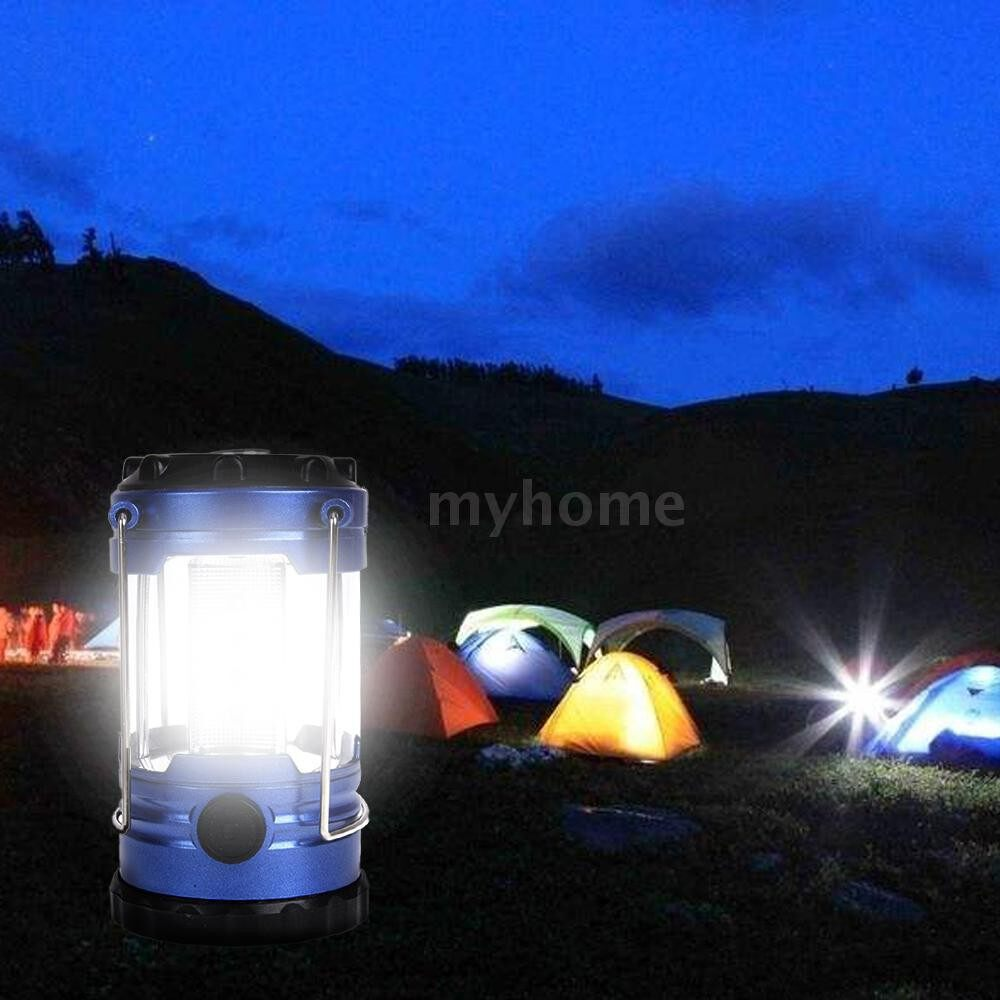 Outdoor Lighting - Lightweight 12 LED Bivouac Camping Hiking Riding Tent Lantern PORTABLE Fishing Light Hanging Tent - #