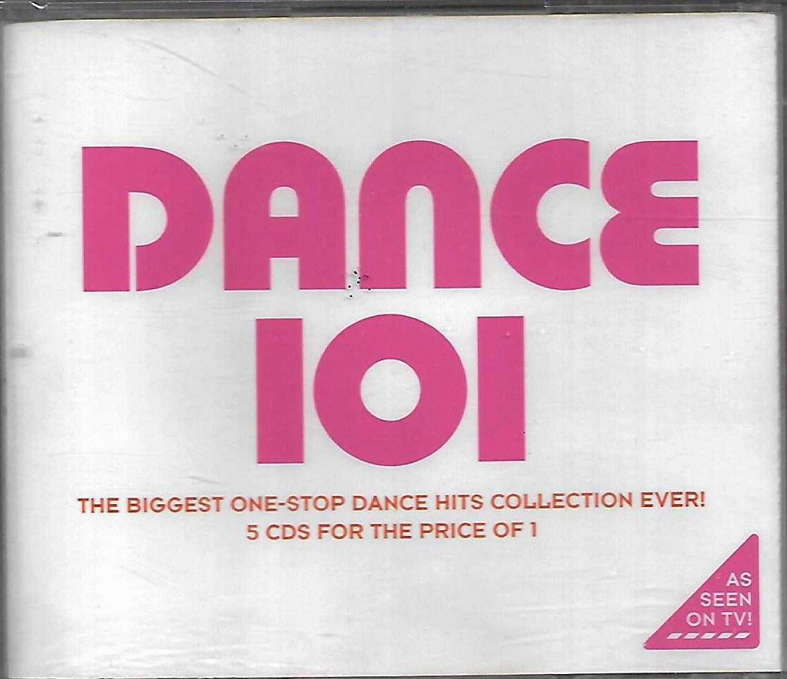 Dance 101 Biggest One-Stop Dance Hits Collection 5CD Box Set Cascada Top Modelz Above & Beyond Cosmic Gate Groove Coverage