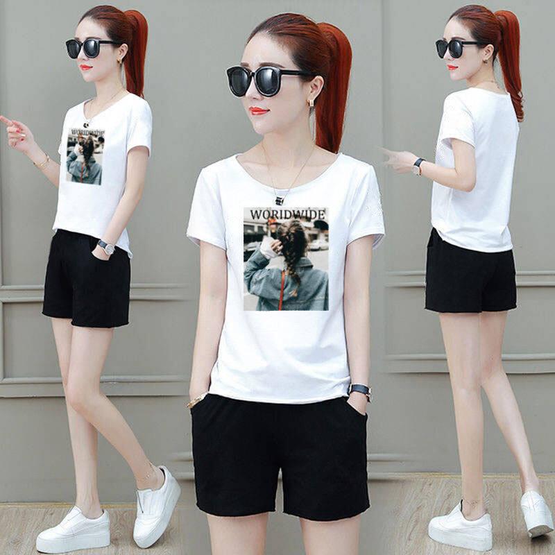 (Pre Order 14 days) JYS Fashion Korean Style Women Sport Wear Set Collection 540 - 4445 Design 2