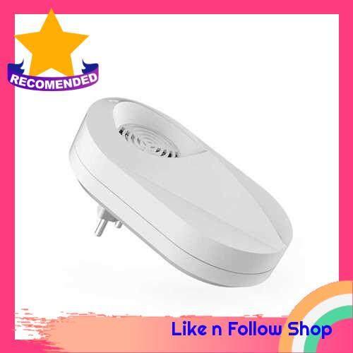 Ultrasonic Wave Electronic Mite Killer Household Bedroom Mite Controller Cleaner Bed Bug Dust Mite Killing Repeller (White)