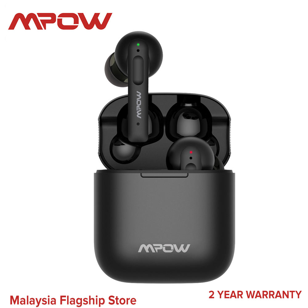 Mpow X3 ANC Wireless Earbuds Active Noise Cancelling Bluetooth Earbuds USB-C Bluetooth Headphones Wireless Earphones