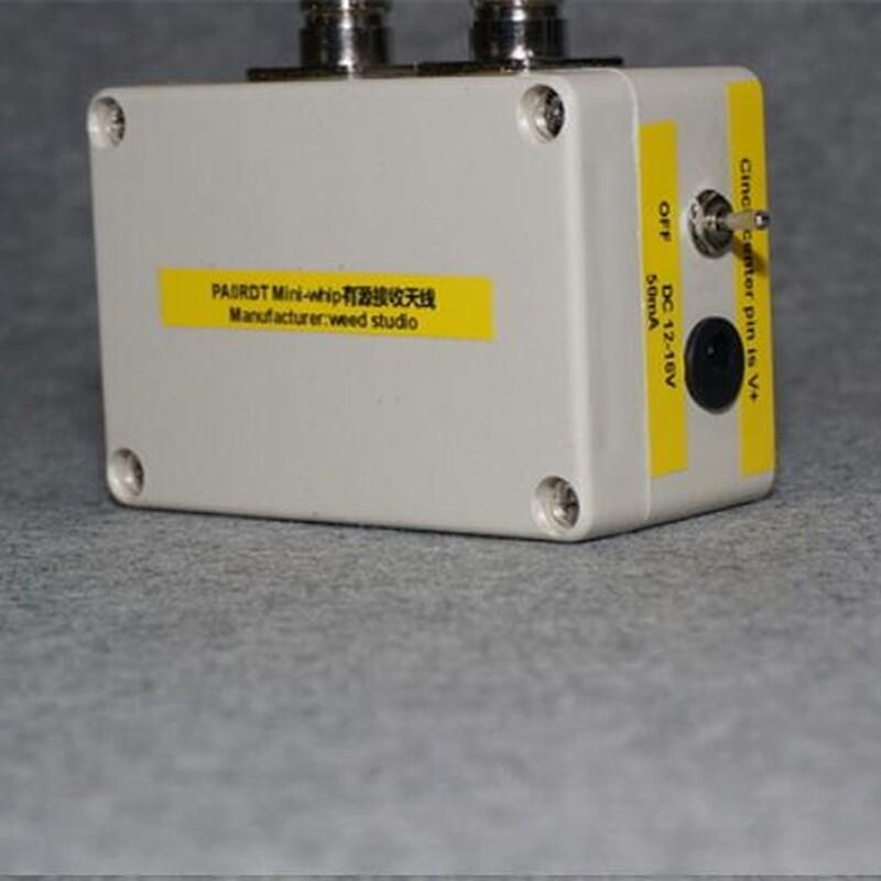 PORTABLE MiniWhip Active Antenna HF LF VLF MINI Whip Shortwave SDR RX Receiving