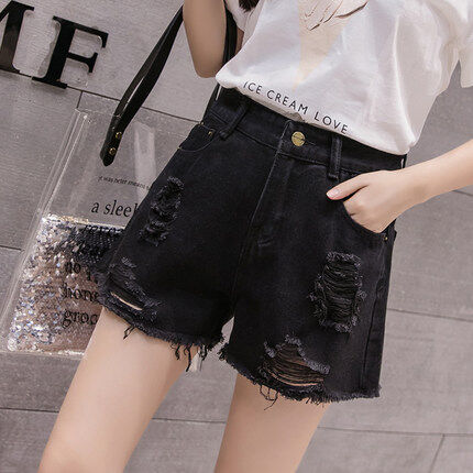 (Pre Order 14 Days)JYSFashionKoreanStyleWomenJeansPantCollectioncol538-338 black 26