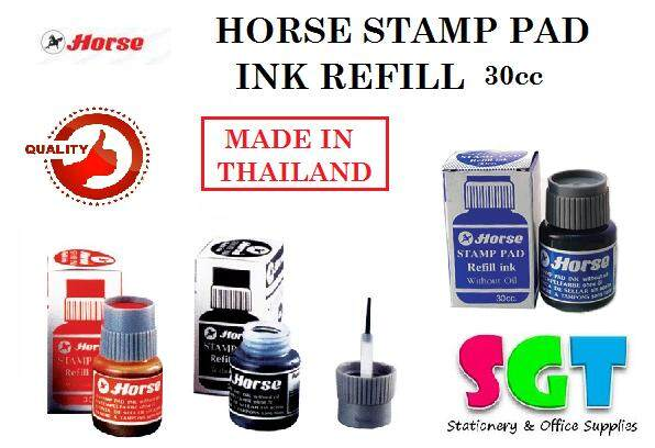 HORSE Stamp Pad Ink Refill 30cc