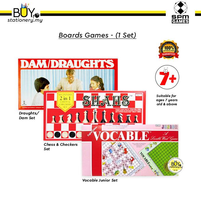 SPM Boards Games - (1set)