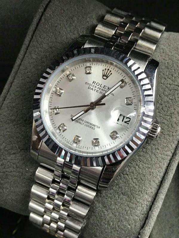 38mm Busines Rolex_Datejust_Fully Automatic Men Watch Unique Good Looking Design New Arrival Date Display Free Genuine Gift Box