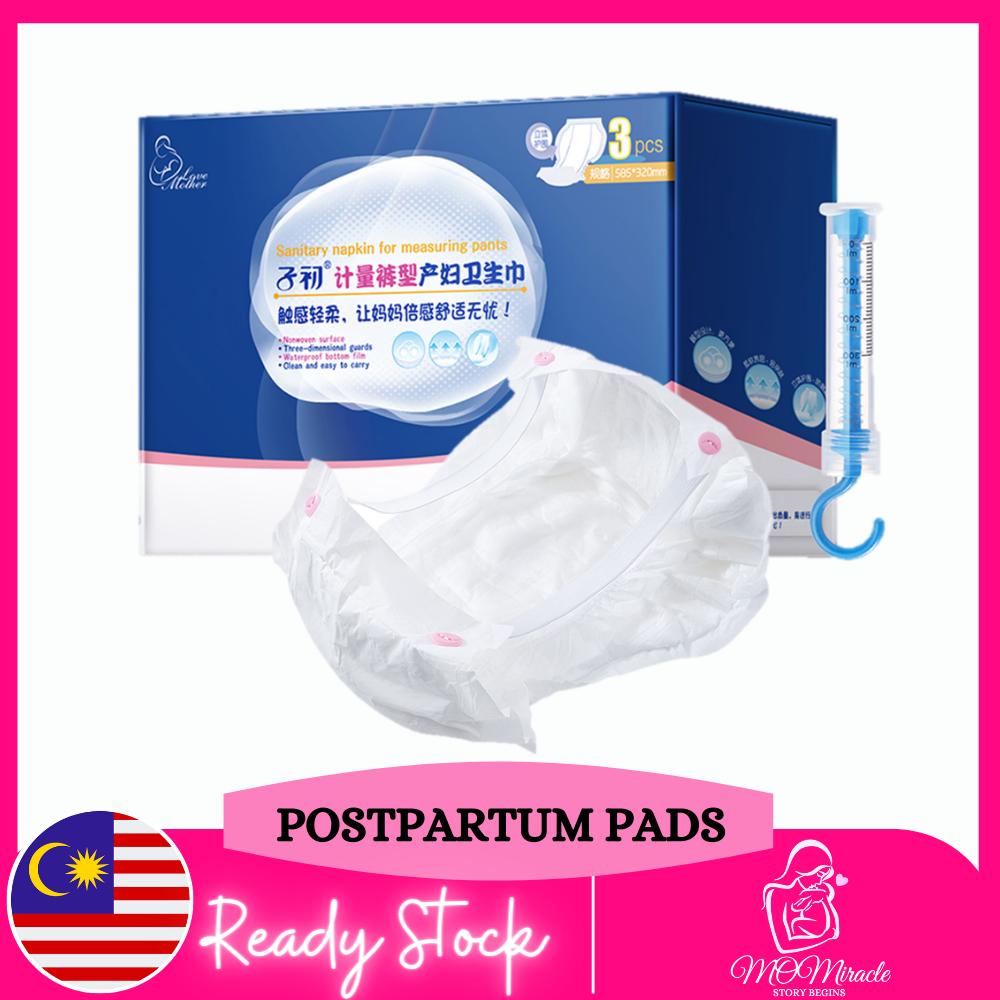 Weighable Maternity Pads Mommy Sanitary Postpartum Pads / Tuala Bersalin Pad Bersalin
