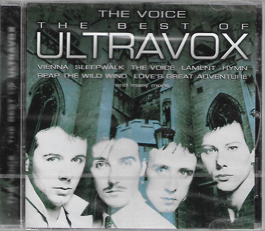Ultravox The Voice - The Best Of Ultravox Imported CD Made In Holland