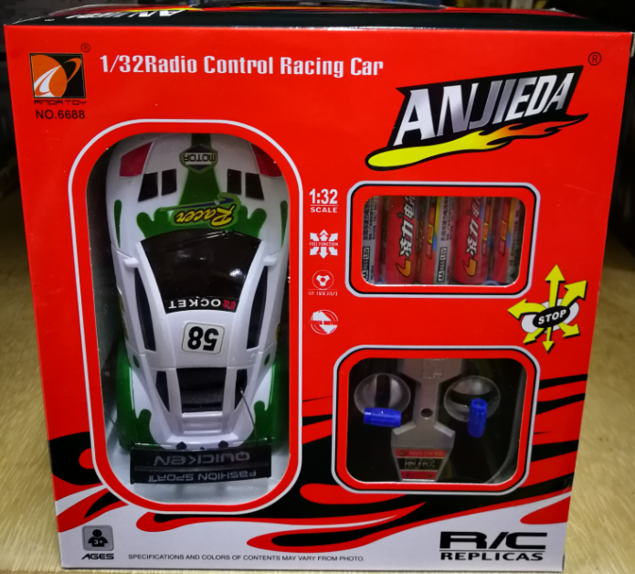 Anjieda Remote Control Toys Car 1/32 Scale R/C Toys for boys