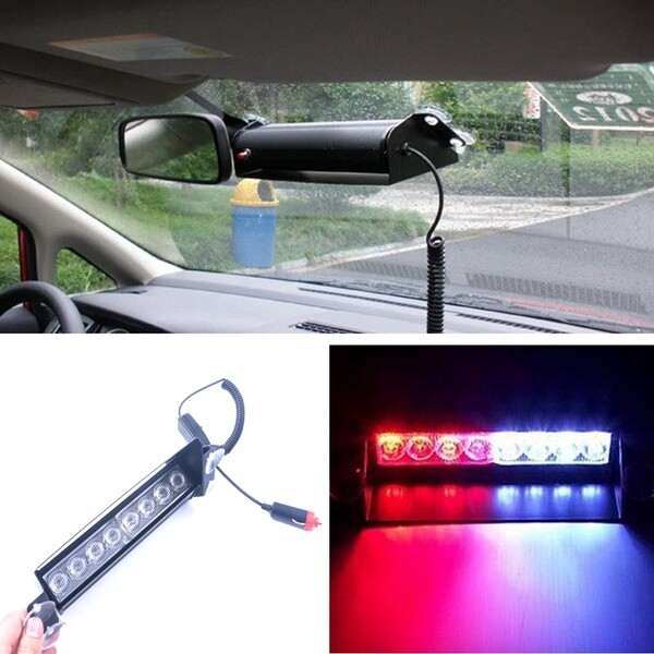 Car Lights - Car solar remote control warning strobe light anti-tailing led free change decor - Replacement Parts