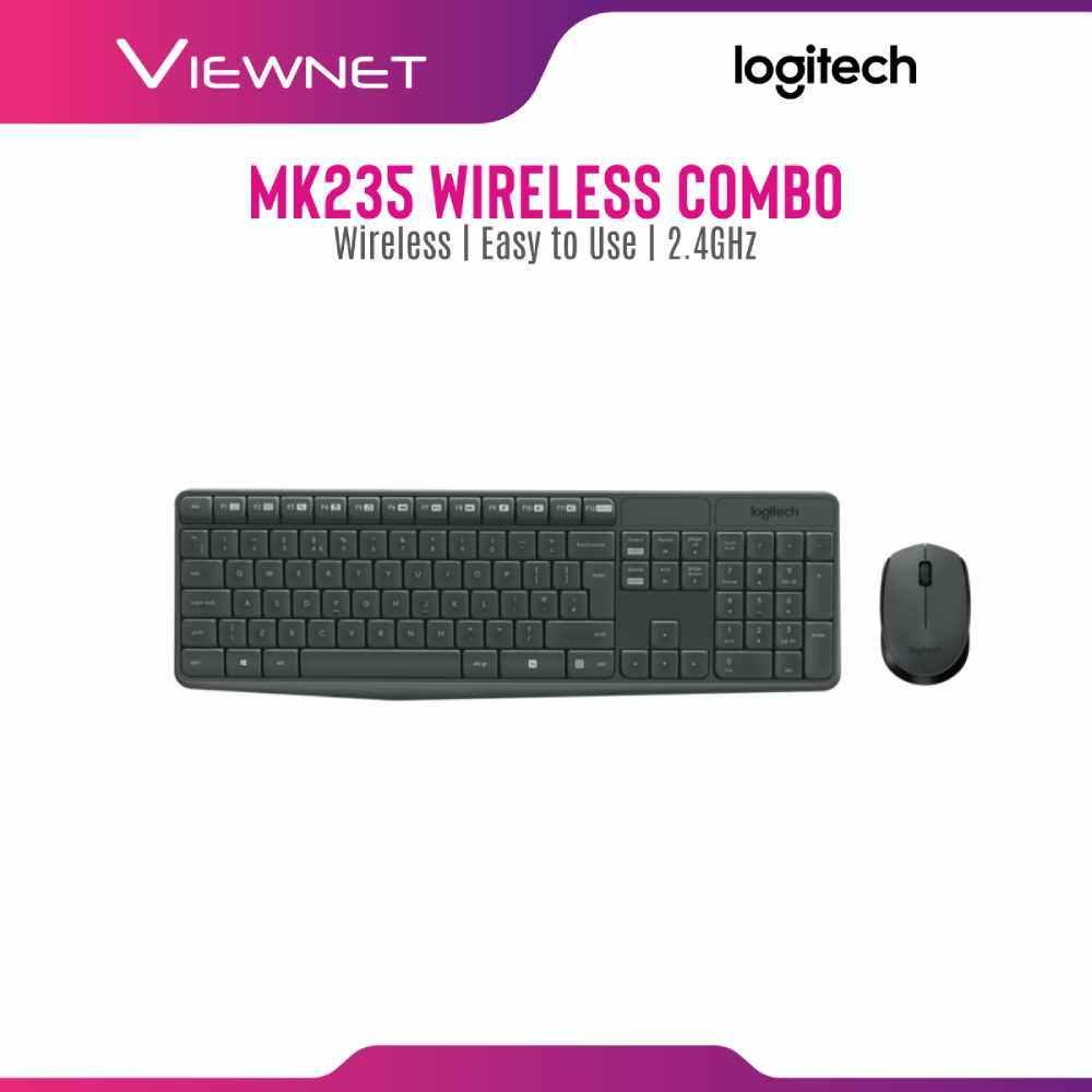 LOGITECH COMBO DESKTOP WIRELESS MK235 (920-007937)