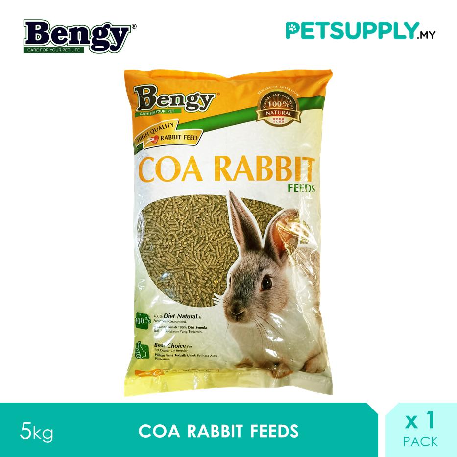 Bengy COA Rabbit Food 5kg [makanan arnab - Petsupply.my]