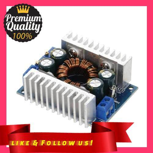 People\'s Choice DC-DC 5V-30V to 1.25-30V 8A Constant Voltage Current Automatic Step-up/Step-Down Regulator Charging Module Boost Converter Module Adjustable Power (Standard)