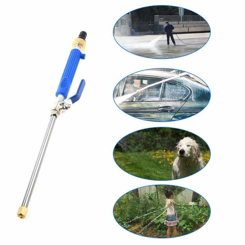 Best Selling High Pressure Water Cleaning Spray Tool Metal High Power Washer Sprayer Car Washing Tools Garden Water Jet Washer (Blue)