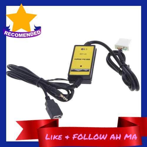 Best Selling Auto Car USB Aux-in Adapter MP3 Player Radio Interface for Mazda 323/3/5/CX7/MX5/MPV/Miata