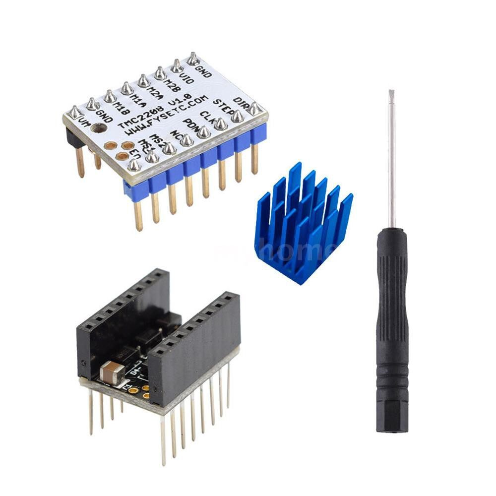 Printers & Projectors - 1 SET TMC2208 V1.0 Stepper Motor Driver Board Module High-Subdivision Mute Drive with Driver - #