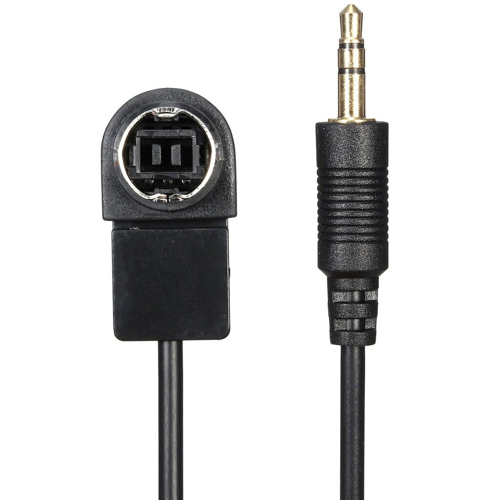 Car Accessories - 3.5mm Aux Jack Input Converter Cable Adaptor For Ipod Iphone Mp3 Alpine Ai Net - Automotive