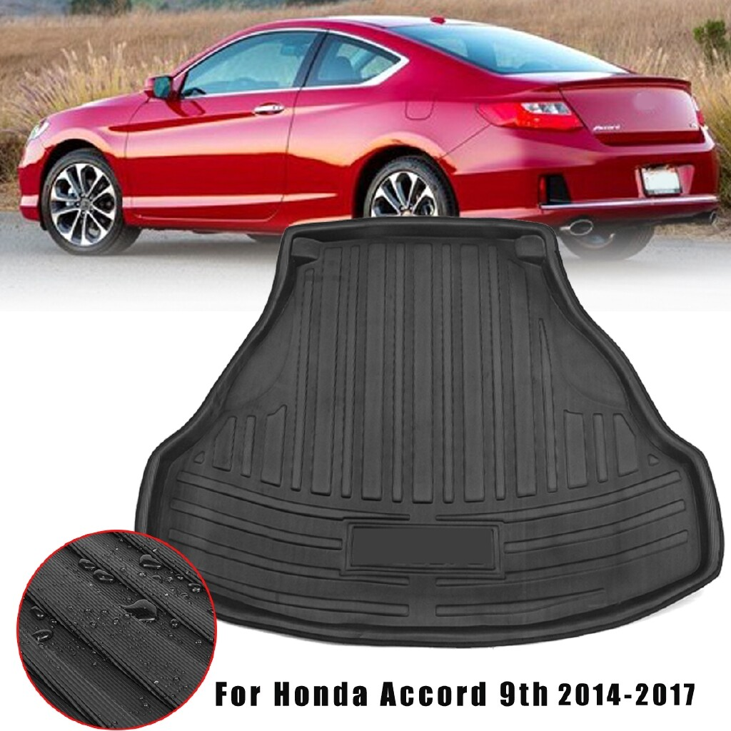 Car Lights - Car Rear Trunk Tailgate Cushion Mat Boot Liner For Honda Accord 9th 2014-2017 - Replacement Parts
