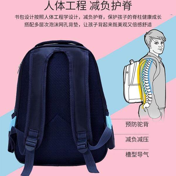 UTM Dark Blue Kids Kindergarten School Bag MYESKB024