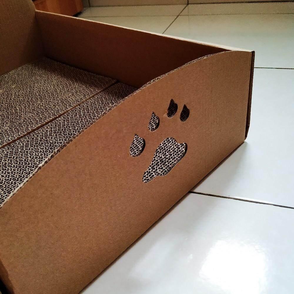 (NEET NEKO) Cardboard Cat Bed with Scratcher