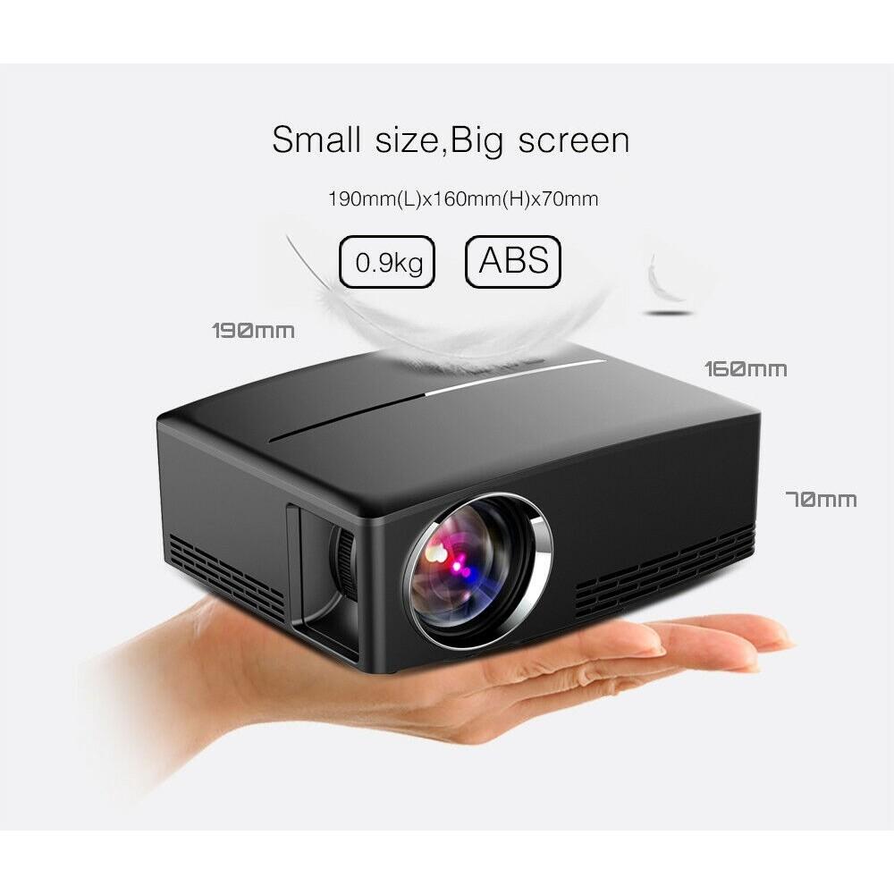 WiFi 4K 3D Full HD 1080P LED Projector Home Theater BLUETOOTH AV/TV/USB/HDMI 8G