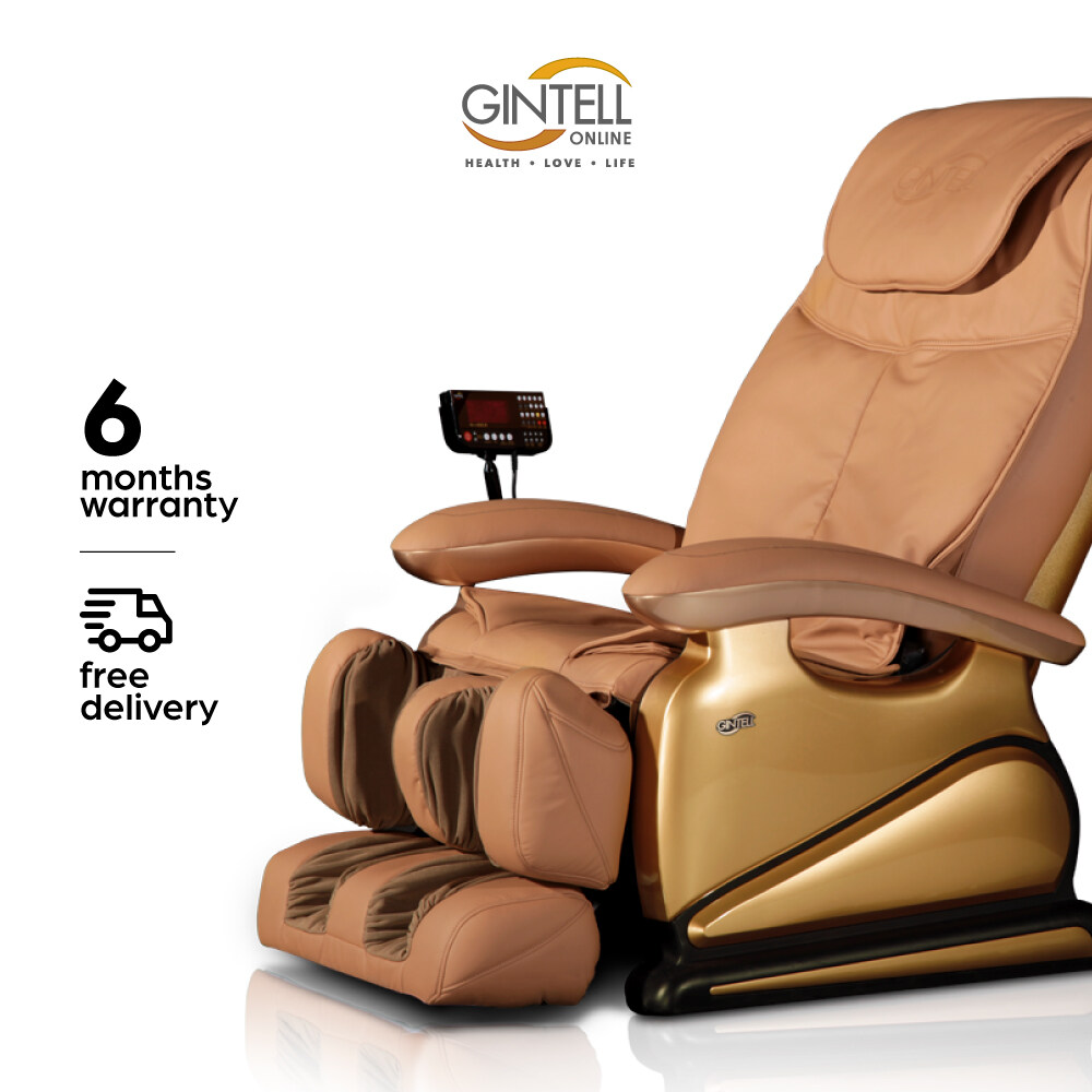 [7.7 Mid Year Super Sale] GINTELL G-Pro Gold Massage Chair (Showroom Unit)-Gold