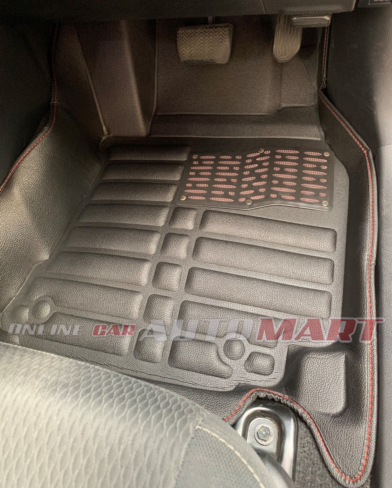 Proton Gen 2 (5D OEM car floor mat/ carpet Anti Slip (Blk/Blk) (5 Seater)